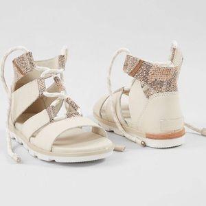 NIB Sorel Torpeda Lace Up Gladiator Sandal…